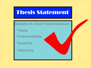 Elements of research report writing